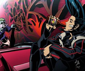 anime, movie, and redline image