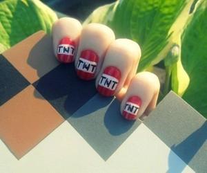 nail art, tnt, and minecraft image