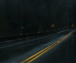 black, grunge, and road image