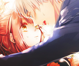 anime, manga, and heart image