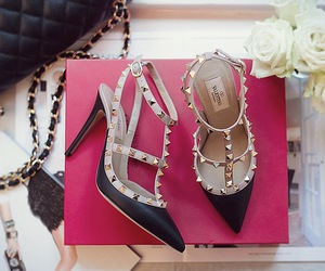 shoes, girl, and heels image