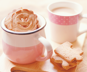 pink, cute, and coffee image