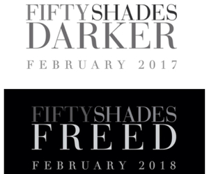 fifty shades darker, fifty shades freed, and 2017 image