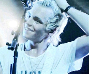 ross lynch, blonde, and comedy image