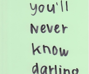 quotes, darling, and text image