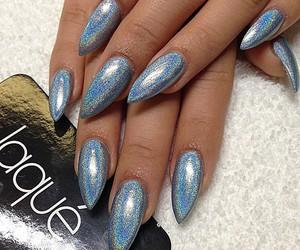 nails and metallic image