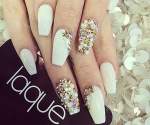 nails, nail decals, and 3d nail designs. nail art image