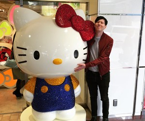 amazingphil, phil lester, and hello kitty image