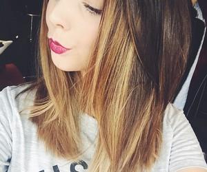 zoella, zoe sugg, and hair image