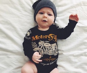 baby and black image