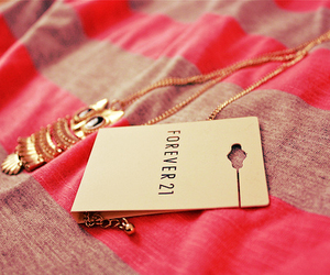 forever 21, owl, and necklace image