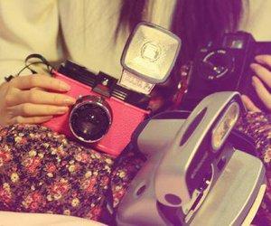 girl, pink, and nice image