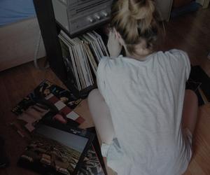 girl, grunge, and music image