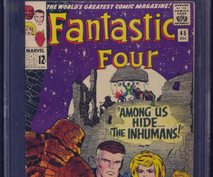 comic books, Fantastic Four, and Jack Kirby image