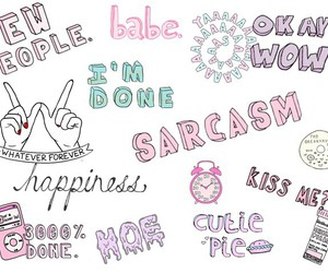 babe, sarcasm, and whatever image