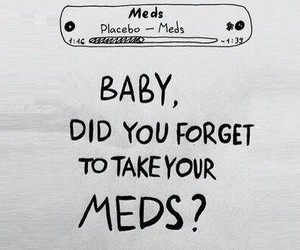meds, Placebo, and Lyrics image
