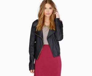 fashion, jacket, and look image