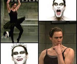 black swan, funny, and jim carrey image