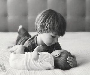 brothers, love, and baby image