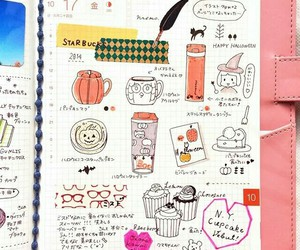 journal, planner, and diarie image