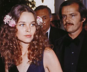 couple, jack nicholson, and michelle phillips image