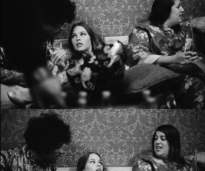jimmy hendrix, michelle phillips, and mama cass image