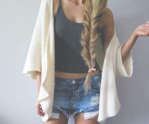 braid, clothes, and fashion image
