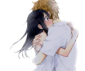 anime, tamako market, and hug image