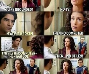 teen wolf, tyler posey, and melissa mccall image