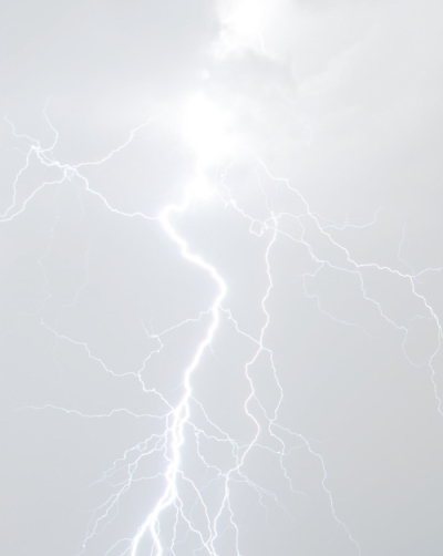 lightning, white, and sky image