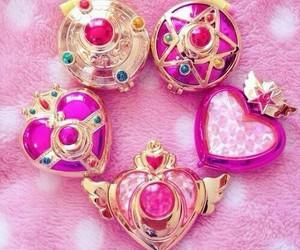 pink, kawaii, and sailor moon image