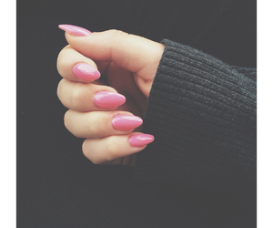 grey, lighting, and nails image