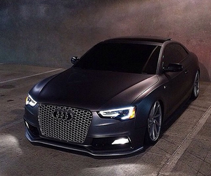 audi, beautiful, and black image