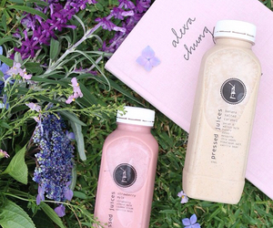 healthy, juice, and pressed juices image