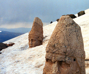 ancient, archaeology, and snow image