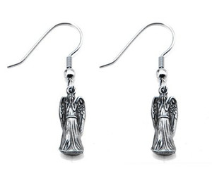 doctor who, weeping angels, and doctor who jewelry image