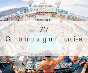 cruise, party, and alcohol image