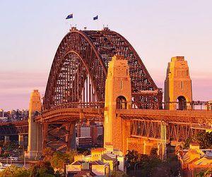 australia and sydney harbour bridge image