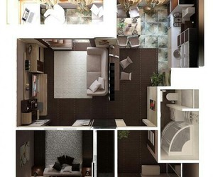 interior, design, and room image