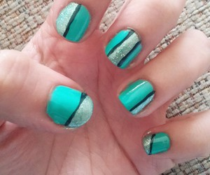 design, nails, and geometric image