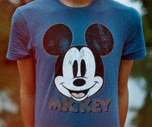 mickey, boy, and shirt image