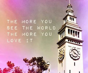 world, quote, and travel image