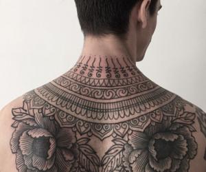 tatoo, tumblr, and men tattoo image