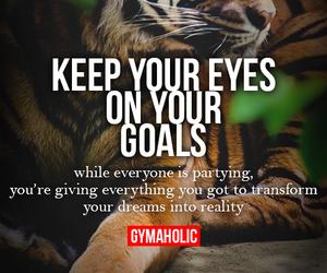 goals, motivation, and gymaholic image