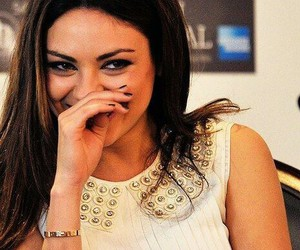 Mila Kunis and smile image