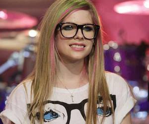 Avril Lavigne, Avril, and glasses image