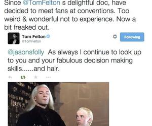 draco malfoy, malfoy, and harry potter image