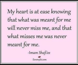 knowing, my heart, and at ease image