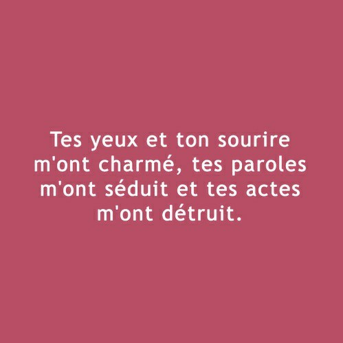 Texte Damour Discovered By M On We Heart It