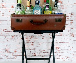 alcohol, bar, and drinks image